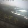 Wetter am 18.2.16 in Cancajos, Ostseite von La Palma